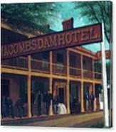 Macomb's Dam Hotel Canvas Print