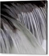 Macro Falls Canvas Print