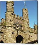 Macroom Castle County Cork Ireland Canvas Print