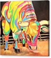 Mad Bull Canvas Print