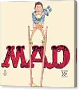 Mad Magazine Cover Canvas Print