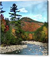 Mad River By Welch And Dickey  Canvas Print