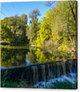 Mad River Waterfall Canvas Print