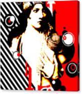 Madam Stripe Canvas Print