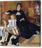 Madame Georges Charpentier Canvas Print
