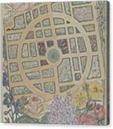 Madame Jumel's Garden Canvas Print