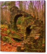 Madame Sherri Castle Ruins Canvas Print