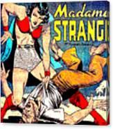 Madame Strange Comic Super Hero Canvas Print