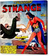 Madame Strange Female Comic Super Hero Canvas Print