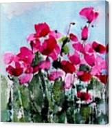 Maddy's Poppies Canvas Print