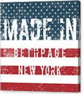 Made In Bethpage, New York Canvas Print