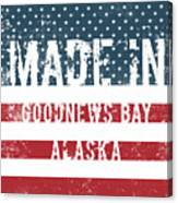 Made In Goodnews Bay, Alaska Canvas Print