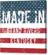 Made In Grand Rivers, Kentucky Canvas Print
