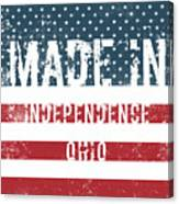 Made In Independence, Ohio Canvas Print