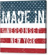 Made In Nesconset, New York Canvas Print