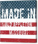 Made In Old Appleton, Missouri Canvas Print