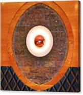 Art Deco Cafe Wall Light Canvas Print