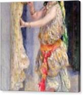 Mademoiselle Fleury In Algerian Costume Canvas Print