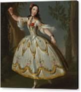 Mademoiselle Violette Dancing Canvas Print