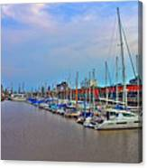 Madero Boat Yard Canvas Print