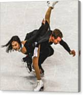 Madison Chock And Evan Bates Canvas Print