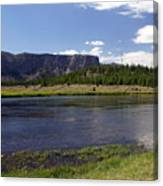 Madison River Valley Canvas Print