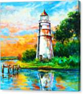 Madisonville Sunset Canvas Print