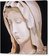 Madonna By Michaelangelo Canvas Print