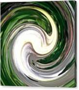 Madonna Lily Swirls Canvas Print