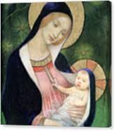 Madonna Of The Fir Tree Canvas Print