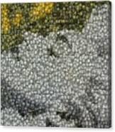 Madonna True Blue Material Girl Coins Mosaic Canvas Print