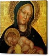 Madonna With Child Gentile Da Fabriano 1405 Canvas Print