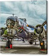 Madras Maiden B-17 Bomber Canvas Print