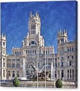 Madrid City Hall Canvas Print