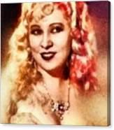 Mae West, Vintage Actress Canvas Print
