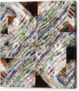 Mag 6 Abstract Painting Canvas Print