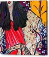 Mag Mad Olivia 1 Canvas Print