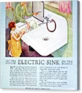 Magazine Ad, 1926 Canvas Print