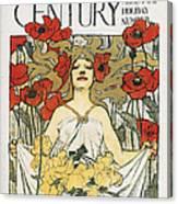 Magazine: Century, 1896 Canvas Print