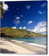 Magens Bay Morning St Thomas Us Virgin Islands Canvas Print