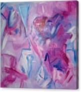 Magenta Blues Canvas Print