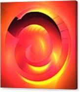 Magenta Curve Canvas Print