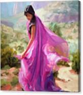 Magenta In Zion Canvas Print
