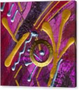 Magenta Joy Dreams Canvas Print