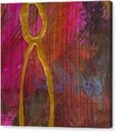 Magenta Joy Stands Alone Canvas Print
