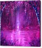 Magenta Spring Canvas Print