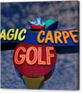 Magic Carpet Golf Canvas Print