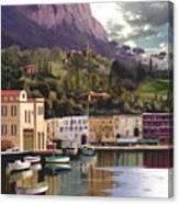 Magic Dawn Resort Canvas Print