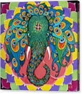 Magic Elephant Canvas Print