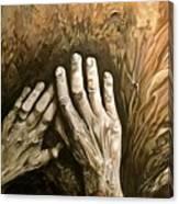 Magic Hands Canvas Print